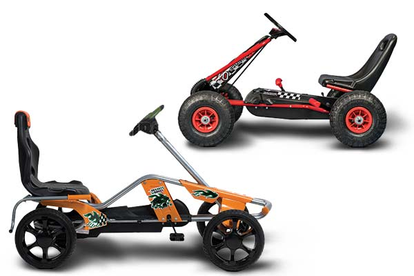 Junior Pedal Power Karts
