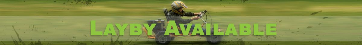 Go Karts Direct has layby options available, click to see terms and conditions.