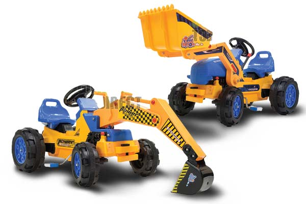 Buy Loaders and Excavators from Go Karts Direct