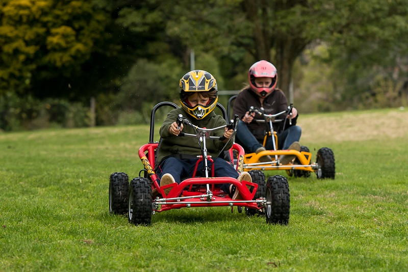 how to drift a go kart