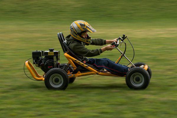 how to drift on a go kart