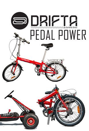 Buy Drifta Pedal Power from Go Karts Direct