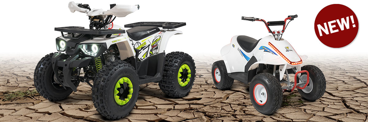 Buyt ATV and motorized ride-on toys from Go Karts Direct