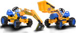 Go Karts Direct, Buy Karts online, Menu Item buy Junior Childrens Pedal Power Loaders and Excavators